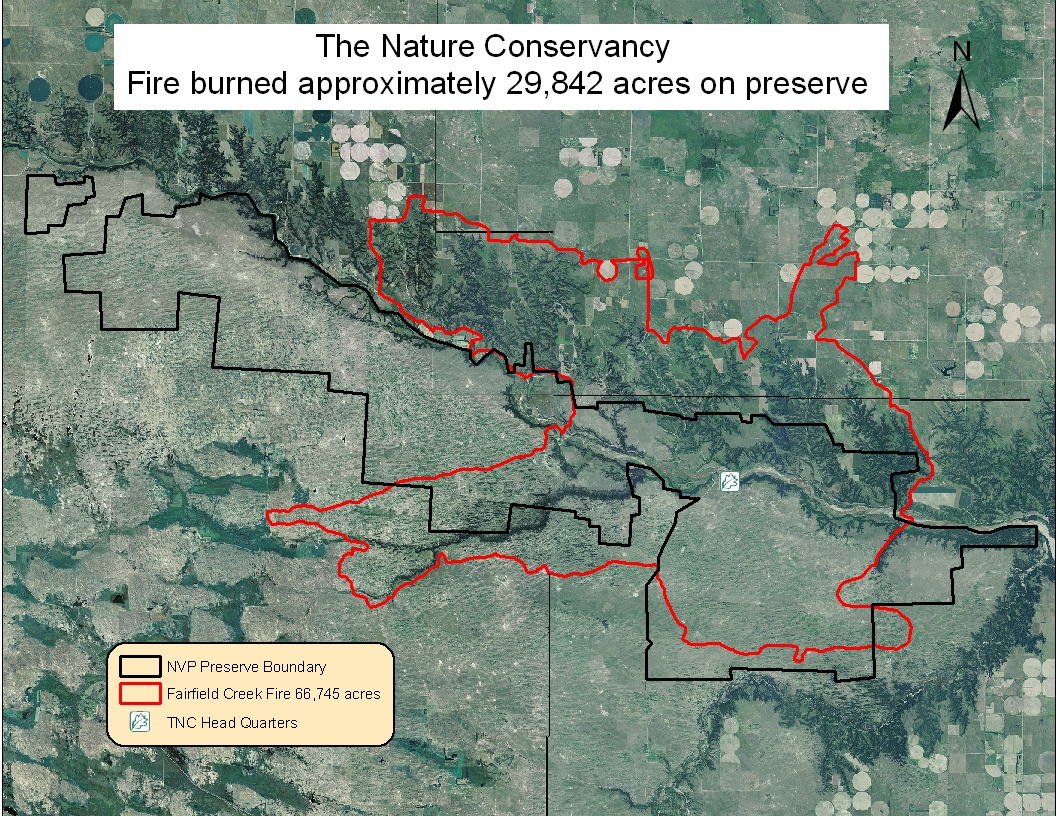 Second Update On Wildfire Impacts At The Niobrara Valley Preserve