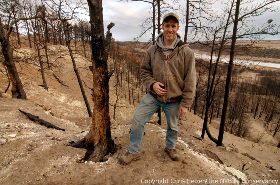 I'm smiling here, but as a prairie ecologist, I'm pretty far out of my element trying to help restore pine woodland.