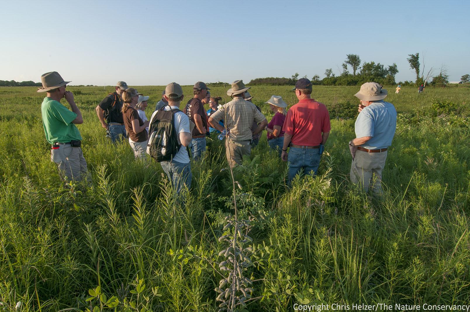 Report from the 2013 grassland restoration network workshop part 1