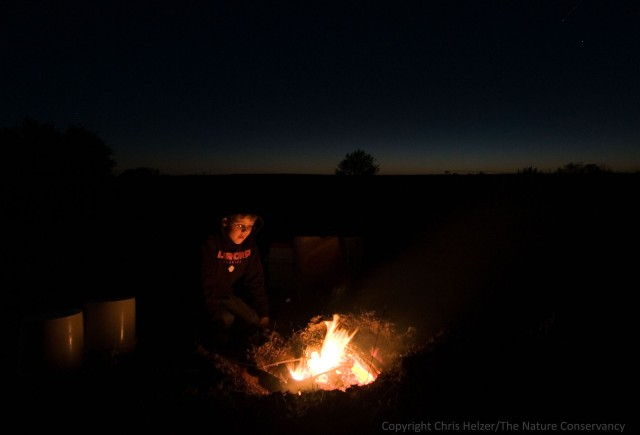 I hope that taking my kids camping at their own prairie will deepen their sense of connection with both their land and their family.