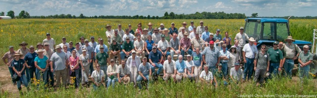 This year's Grassland Restoration Network workshop was hosted by the Missouri Department of Conservation.  The attendance was strong, but still small enough that it was possible to meet and talk with a majority of them during the workshop.