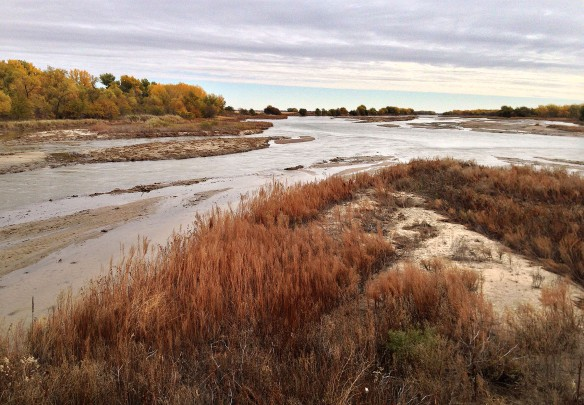 South channel of the Platte, facing east.