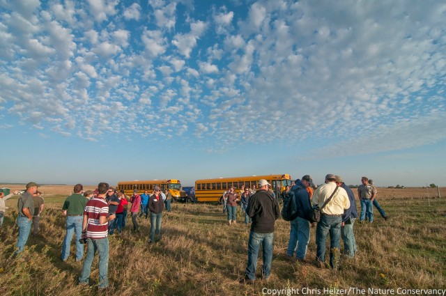 Attending workshops such as the annual get-together of the Patch-Burn Grazing Working Group has helped me continue to learn at a fast rate.  (2013 Workshop in South Dakota)