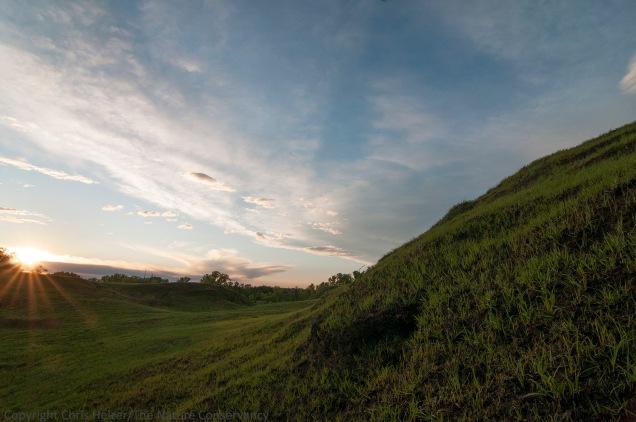 Sunrise at Griffith Prairie - Hamilton County, Nebraska.