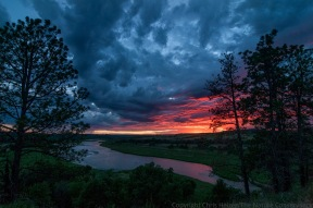 Sunset at the Niobrara Valley Preserve