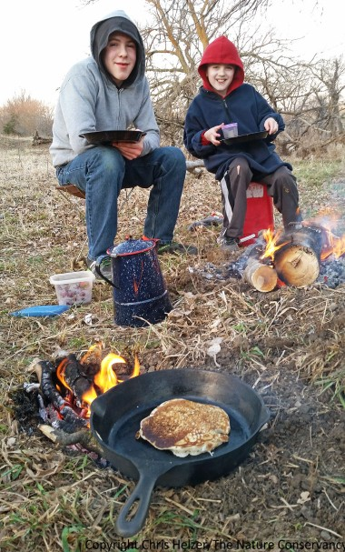 Anyone who has been camping knows that food always tastes better when cooked on a campfire.